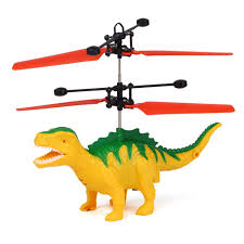 Mini <b>Induction</b> Sensing Hand Suspension Flying <b>Dinosaur</b> with LED ...