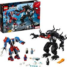 LEGO <b>Marvel Super Heroes 76115</b> Spider Mech vs. Venom ...
