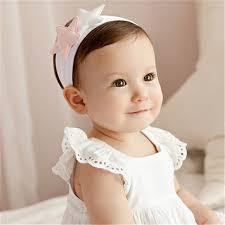 Милые детские для маленьких девочек звезда <b>хлопок</b> Hairbands ...