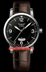 Швейцарские наручные <b>мужские часы AVIATOR V</b>.<b>1.11.0.034.4</b> ...