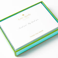 thank you notes by kate spade new york set of 10
