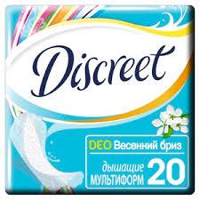 Always <b>Discreet прокладки ежедневные 20 шт</b> купить по цене 91 ...