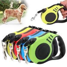 <b>3m</b>/<b>5m</b> Durable <b>Pets Dog</b> Leash Nylon Extending Puppy Walking ...