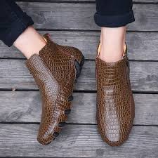 Fashion <b>Genuine Leather Men</b> Chelsea Ankle Boots in <b>2019</b> ...