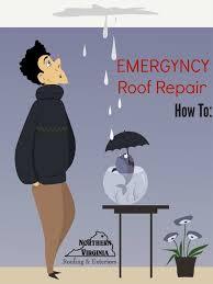 roof repair place:  temporary emergency roof repair x