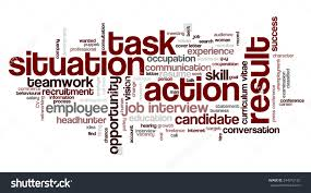 royalty word cloud related to behavioral job  word cloud related to behavioral job interview keywords situation task action and result