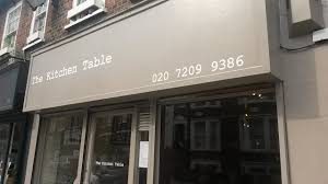 Kitchen Table London Review Review The Kitchen Table West Hampstead London Cafe Review