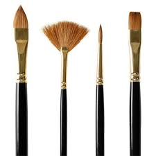 Image result for sable paint brushes