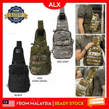 Army Military 3P PUBG Attack Tactical <b>Outdoor</b> Sling Bag B14 ...