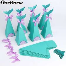 Online Shop <b>OurWarm</b> 20pcs <b>Under the Sea</b> Party Candy Boxes ...