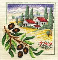 «<b>Набор для вышивания Panna</b> Итальянский полдень ...