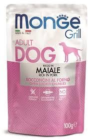 <b>Паучи Monge Dog Grill</b> Pouch для собак 100 г - купить в ЮниЗоо в ...
