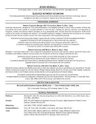 Resume Format For Networking