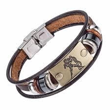 <b>Drop Shipping Hot</b> Selling Europe <b>Fashion</b> 12 zodiac signs Bracelet ...