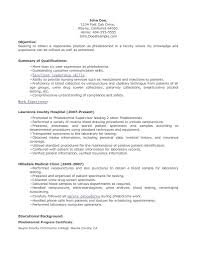 sample resume objective for nursing student cv templates sample resume objective for nursing student nursing resume best sample resume phlebotomist resume sample 622