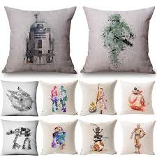 <b>18inches Home Decor Star</b> Cotton Wars Pillow Cover Pillow Case ...