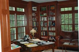 modern classics study traditional home office atherton library traditional home office