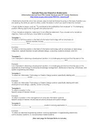 Objective Statements For Resumes  resume examples customer service