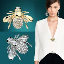 <b>Hot New Exquisite Fashion</b> Rhinestone Animal Brooch Lovely Alloy ...