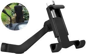 Color : Black YSNBM Rearview Mirror <b>Mobile Phone</b> Holder ...