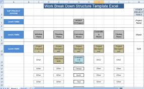 Work Breakdown Structure Template Excel | ExcelTemple | Excel ...