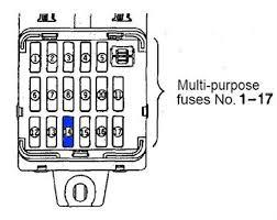remove the cigarette lighter in a 2006 mitsubishi montero fixya it is fuse 14 in the under dash fuse box it will be a blue