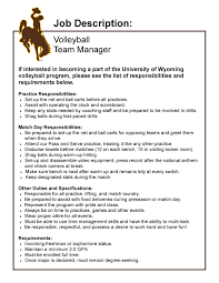 uw volleyball seeking applications for student manager hits