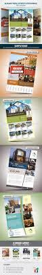 elegant real estate flyer set by antyalias graphicriver elegant real estate flyer set commerce flyers
