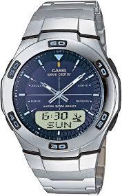 Японские наручные <b>часы Casio</b> Radio Controlled <b>WVA</b>-<b>105HDE</b>-<b>2A</b>