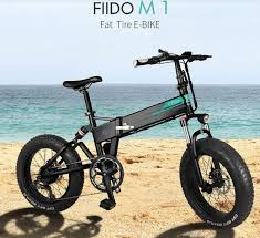 <b>FIIDO M1</b> Folding <b>Electric Bike</b> is now available for just $949.99
