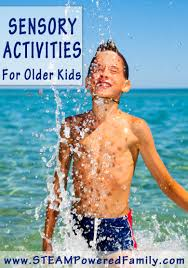 sensory activities for the older child sensory activities for the older child ideas for all interests on this list