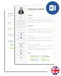 pack ebook pdf format cv and cover letter model noctula resume model fully editable in word cv pss e30d 003