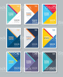 color full cover page brochure flyer report layout design template 1 credit