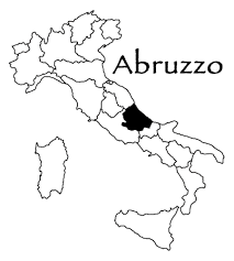 Image result for map of abruzzo italy