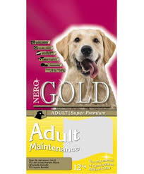 I think for large <b>dogs</b> Natural premium <b>Nero Gold</b> Maintenance ...