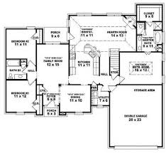 Bedroom House Plans With Basement   Irynanikitinska com    Wonderful Bedroom House Plans With Basement   Open One Story House Plans Bedrooms