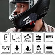 Fodsports V6 Plus мотоциклетный шлем Интерком <b>Мото</b>