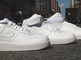 nike air force 1 white on whites for spring 2014 sneakernewscom af1 white