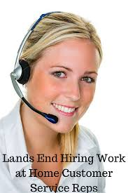 lands end work at home customer care agents needed telecommuting lands end work at home