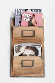magazine rack wall mount:  artistic living room decoration with arts and crafts magazine rack cool furniture and accessories for
