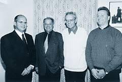 et Patrice Bertherin entourent <b>Charly Grandjean</b> et Jacques <b>...</b> - FCBulle