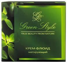 Liv Delano Green style <b>крем</b>-<b>флюид для лица матирующий</b> дневной