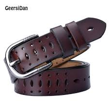 <b>GEERSIDAN</b> Good <b>Women belts</b> cow genuine leather pin buckle ...