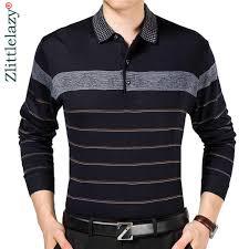 2019 casual long sleeve business <b>mens</b> shirts <b>male striped</b> fashion ...