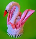 Поделки оригами видео лебедь модульное
