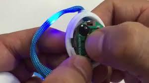 7th Generation Nylon <b>LED Shoelaces</b> Light Up with 10 LED beads ...