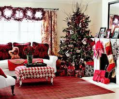sala roja navidad