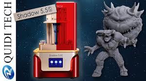 Découverte de la Shadow 5.5s <b>Qidi Tech</b> (imprimante 3D Résine ...