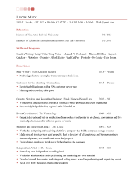 resume tips creative writing lucas mark one page entry level