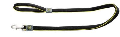 <b>Hunter поводок</b> для собак Maui, сетчатый текстиль, черный